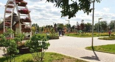 В городском парке города Калуга установлен автополив!